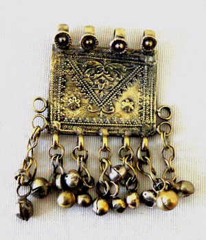Homemade Afghan Fashion Vintage Necklace - wholesale Afghani Tribal Pendant