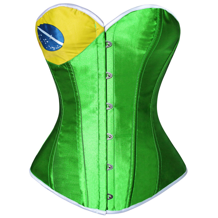 Customized Flag Sexy Corsets