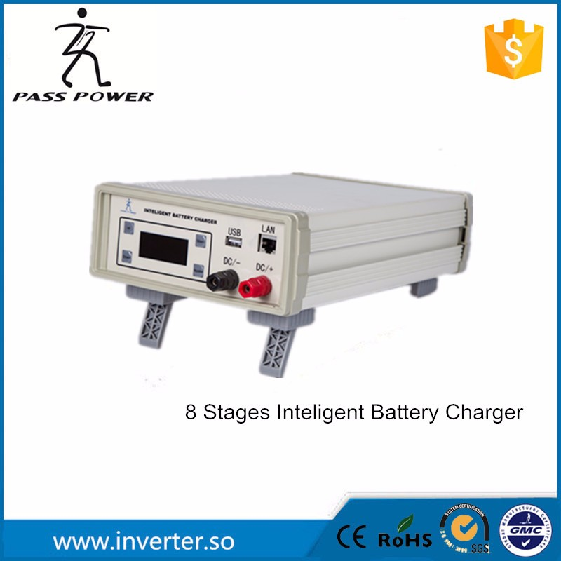 2016 new design intelligent battery charger 12V 24v 8A 15A 20A 25A 50A 20 amp battery charger