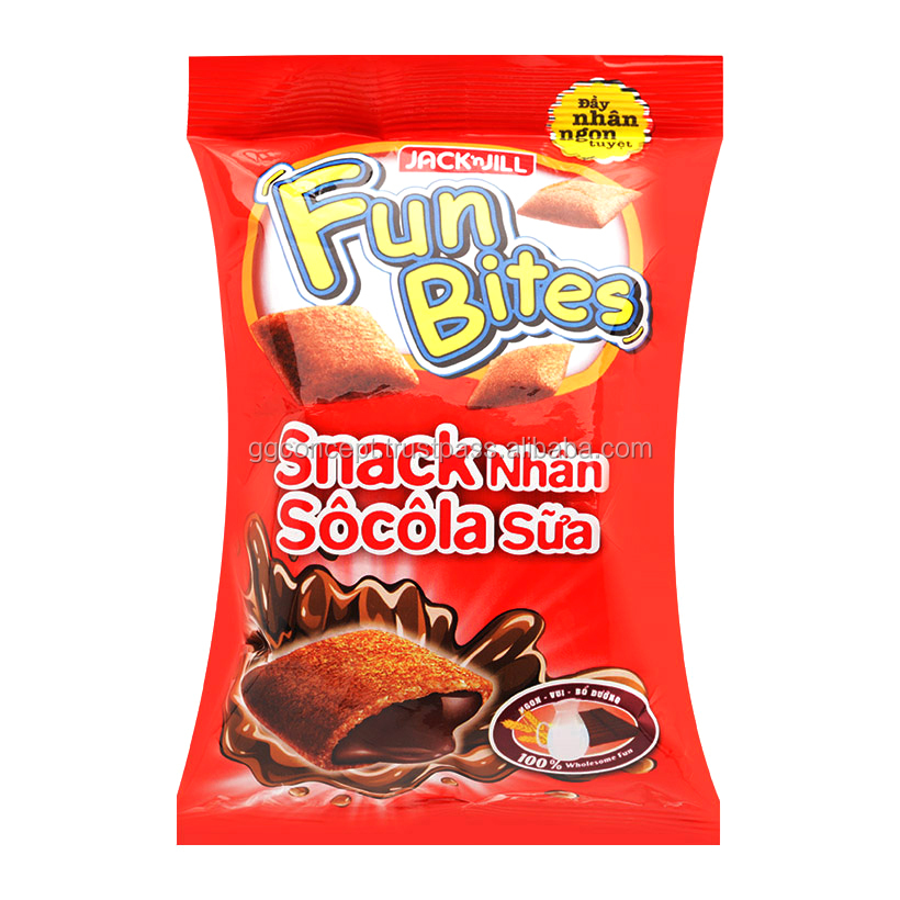 Fun Bites Snack Chocolate 14g / Snack food Chocolate / Wholesale Snack bag/Snack Fried chicken