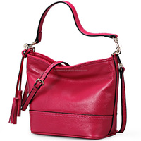 LUKE FASHION - Branded hobo bags women Genuine leather handbags with strap hot sell