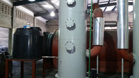 High recover pyrolysis oil machine
