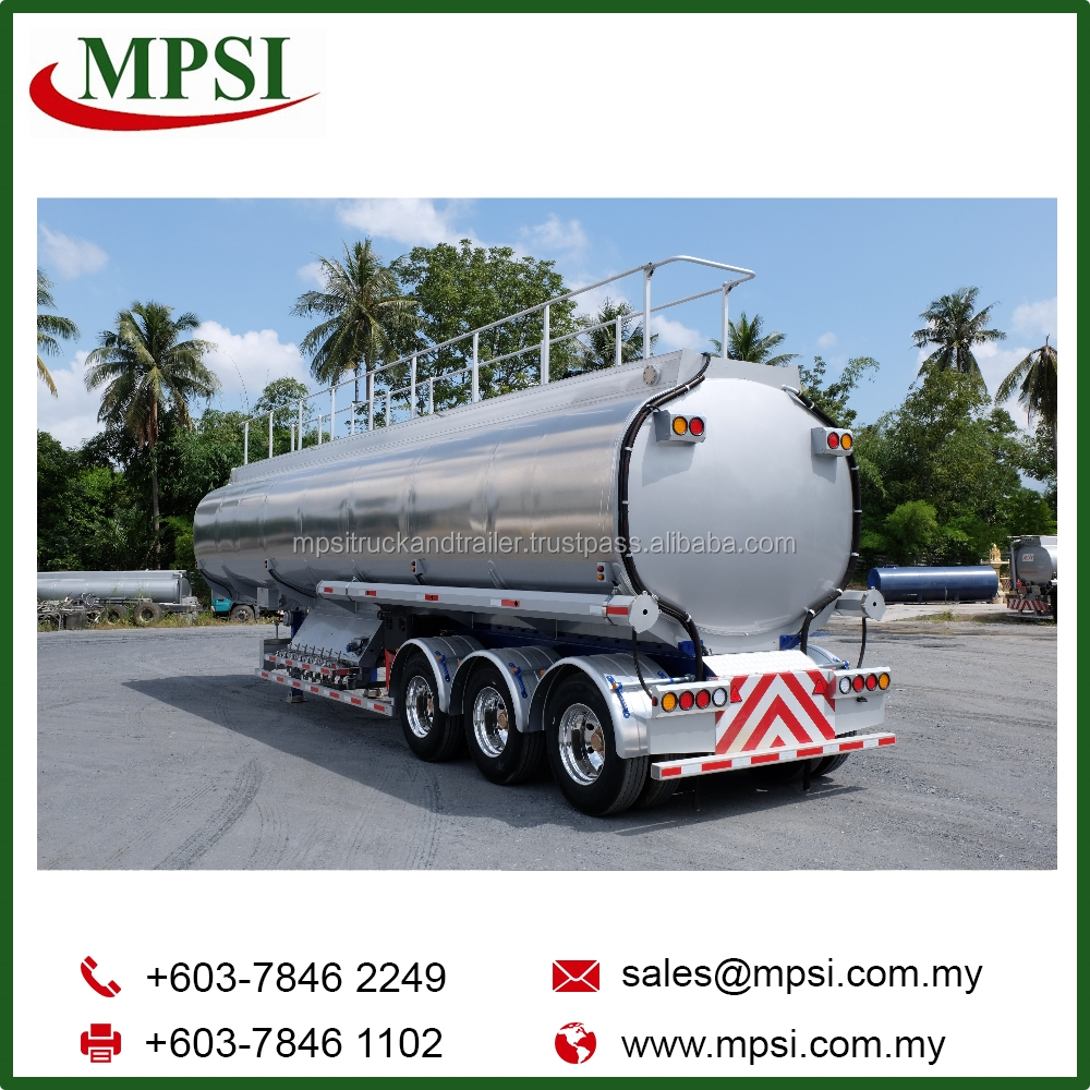 Petroleum Road Tanker Trailer Truck