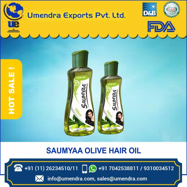 Best Quality Direct Factory Price Olive Hair Oil for Strong and Long Hair