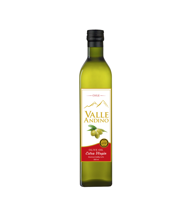 Olive Oil from Chile Premium Quality Valle Andino