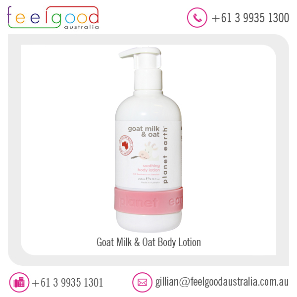 Newest Market Arrival Body Products Goat Milk and Oat Body Lotion