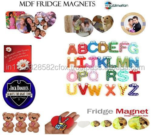 Sublimation Fridge Magnets for Customized Printing