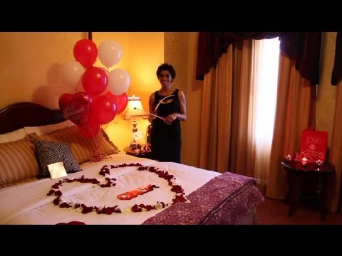 Get Quotations Romantic Ways To Decorate A Hotel Room On Valentine S Day For Your
