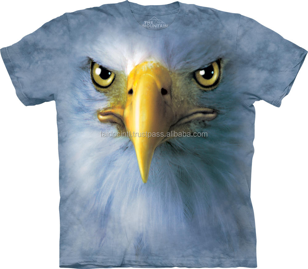 Eagle Face T-Shirt / Best quality by Taidoc international