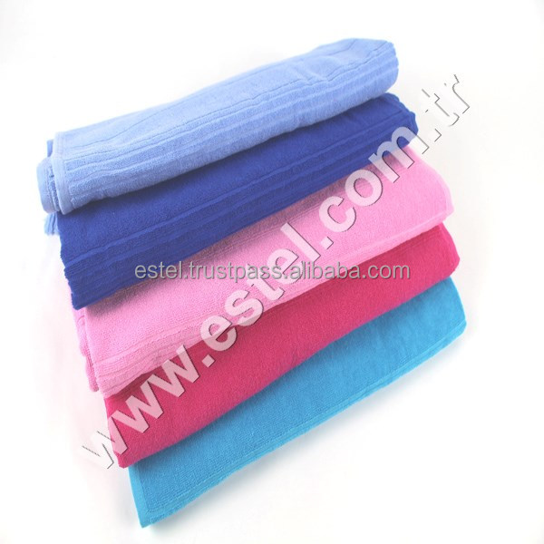 Brand New Design Turkish Towel Peshtemal for Hamam Bathrobe Spa Pool Massage Sauna ( Premium Terry Towel )