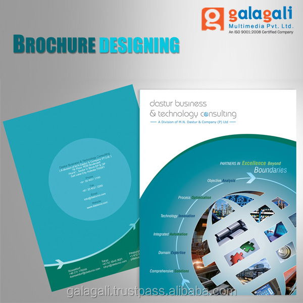 Attractive Design for Business Catalogs and e-Brochures - Graphic Design Service at Best Price