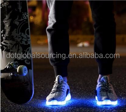 Brand New Led Luminous Unisex Sneaker Casual Style led Light Up Dance Shoes