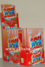 Strawberry instant powder drink juice
