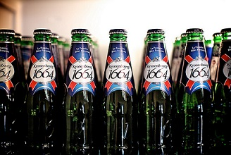 New In Stock French kronenbourg 1664 Blanc Beer