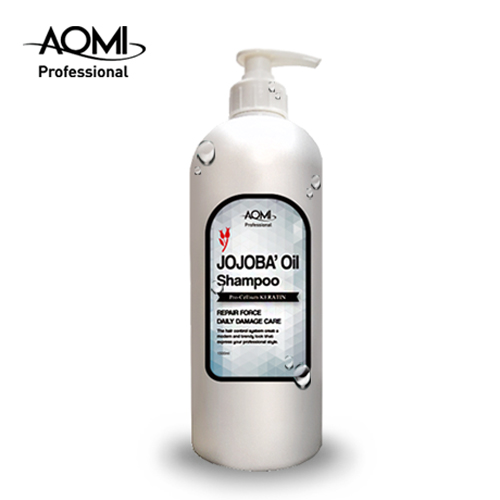 AOMI Jojoba Oil shampoo 1500ml for protein and dry hair
