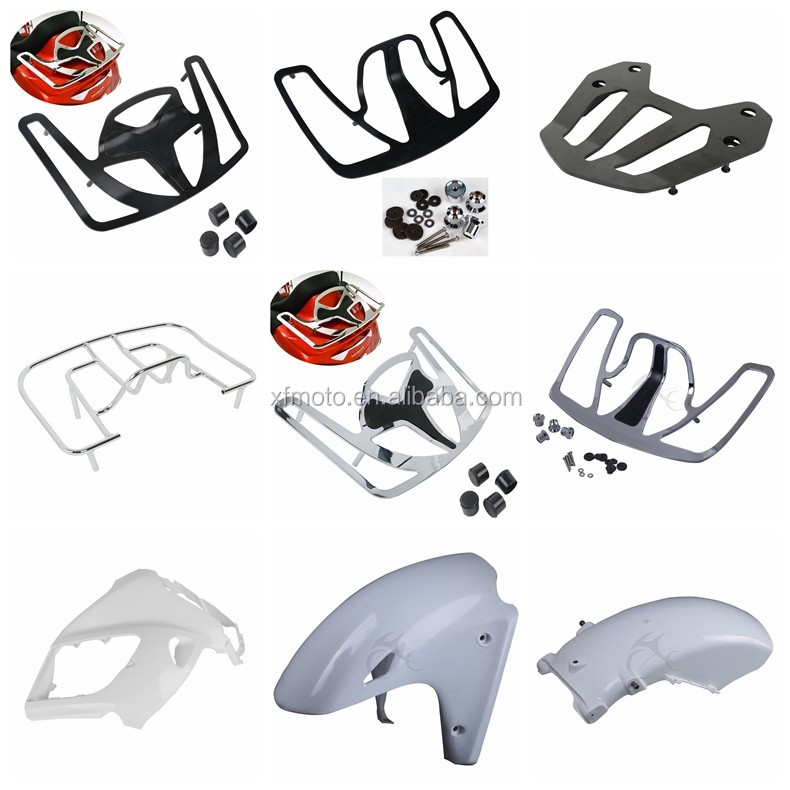 Motorcycle Turn Signal Lens Shell Cover front fender Windshield Panel Accent Fairing foot peg lugguage rack for Honda Goldwing