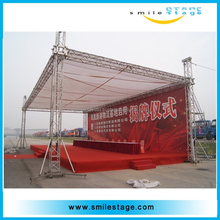 aluminum trade show truss display
