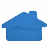 Flex-It House Cutting Board - flexible, top rack dishwasher safe and comes with your logo