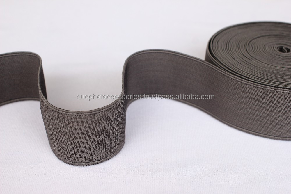 30mm red top high Viet nam manufacture elasticband for clothes