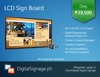 HD Digital Signage Package | Cloud-Based | LCD Sign Board | Menu Board