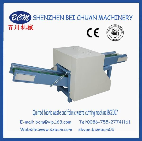 Polyester Fabric Recycling Machine of Pillow