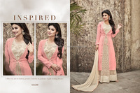 Dignified Georgette Anarkali Salwar Suit/fancy lehenga choli/wholesale lehenga choli