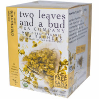 Two Leaves and a Bud, Organic Chamomile Herbal Tea, Caffeine Free
