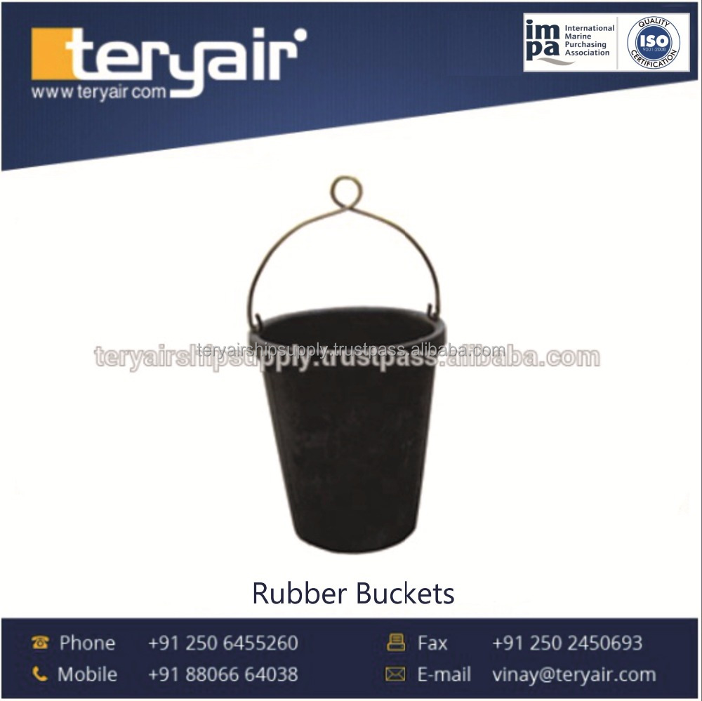 Quality Tested Flexible Rubber Bucket from Trusted Manufacturer