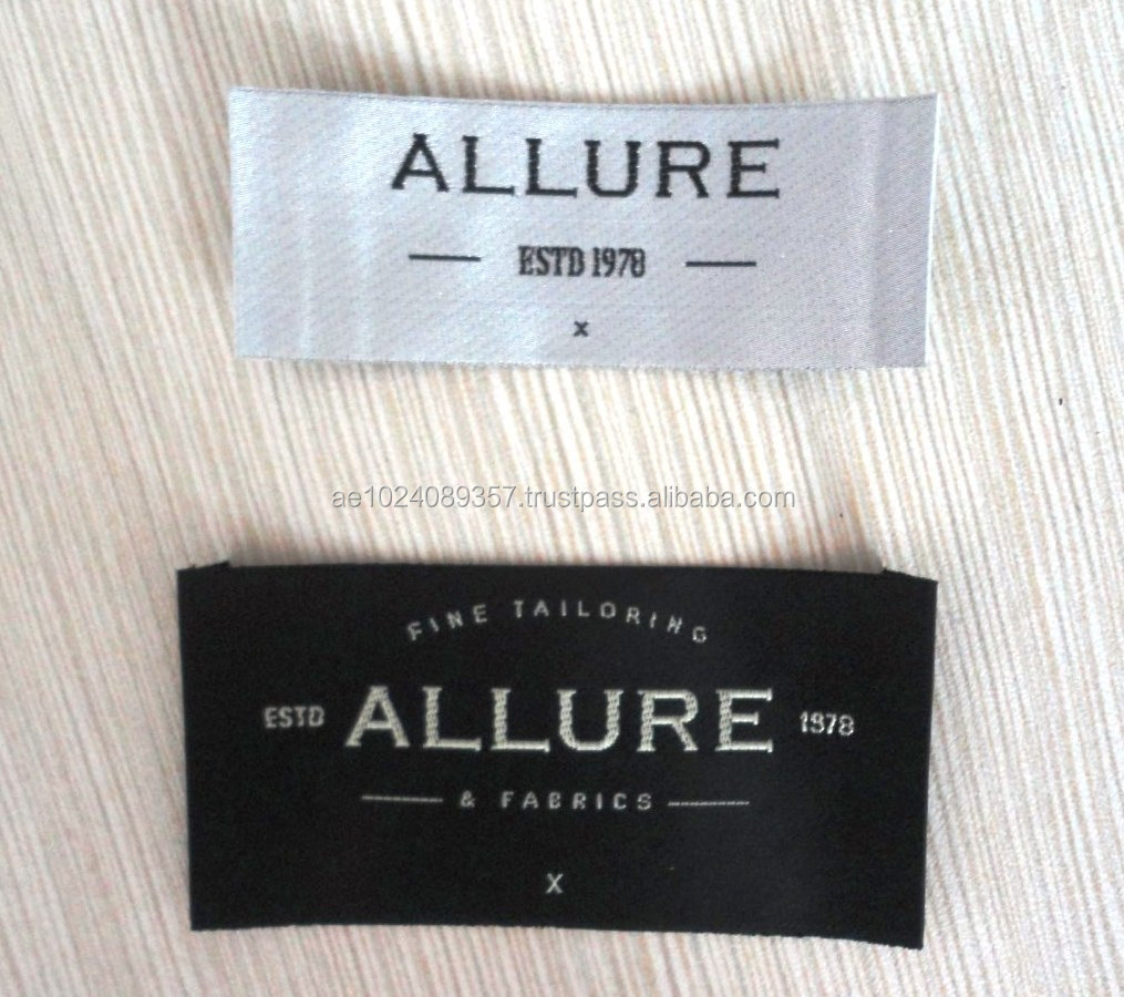 Woven labels UAE | Woven labels in Dubai| Woven label suppliers in Dubai