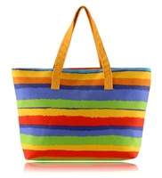 Colourful Fabric Shopping Bag