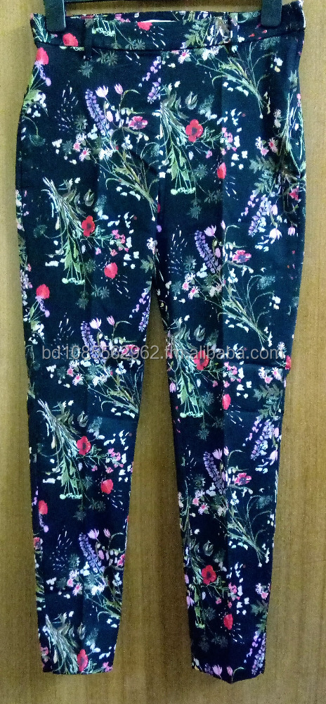 H&M Women Stretch Slacks (Leggings) Patterned & Solid