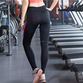 Sports Wear Athletic Gym Workout Fitness Wear Yoga Wear Capri Compression Wear Thermal Tights Ci-61