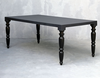 Vogue Furniture collection made from solid wood and stone cast table tops