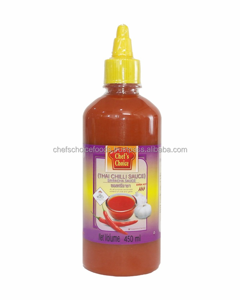 Special Premium Thai Extra Hot and Spicy Dipping Sauce - Chef's Choice Sriracha Chilli Sauce (Extra Hot)