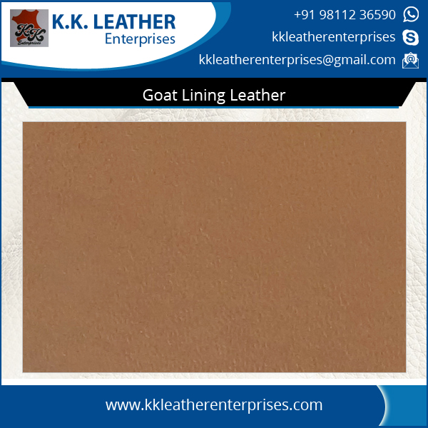 Top Quality Cost Effective Sheep Lining Leather at Low Price