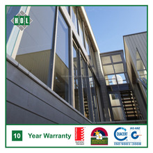 Balcony aluminum sliding door, lowE glass, dark color