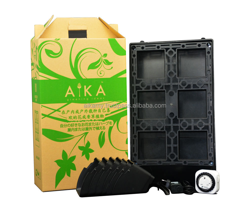 AIKA Indoor 6 Pots System with Automatic Watering Functions (Standard)