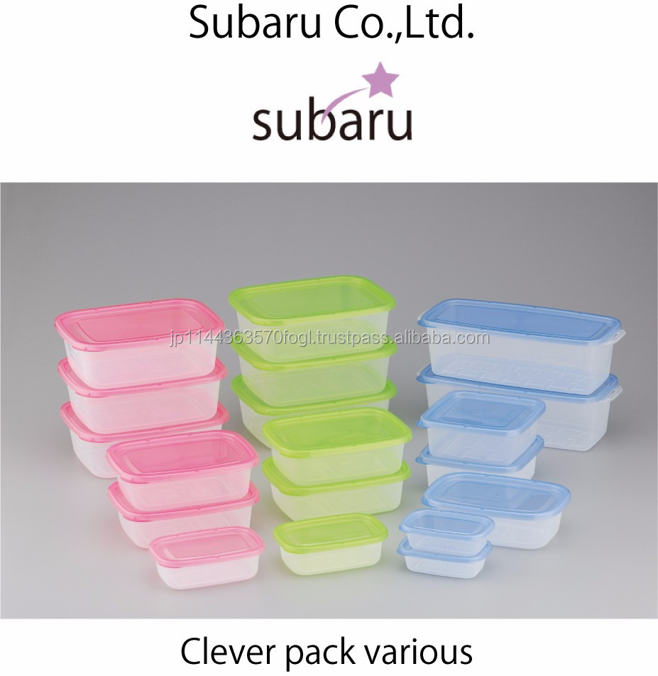 Durable rubbermaid easy find lid food storage container with multiple functions made in Japan