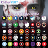 No1 Sclera Lens Special Effect Glow UV in the dark by ColourVUE