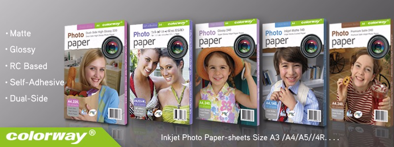 Factory supply! A4 Size high glossy inkjet photo paper Waterproof Glossy Photo Paper Inkjet coated paper