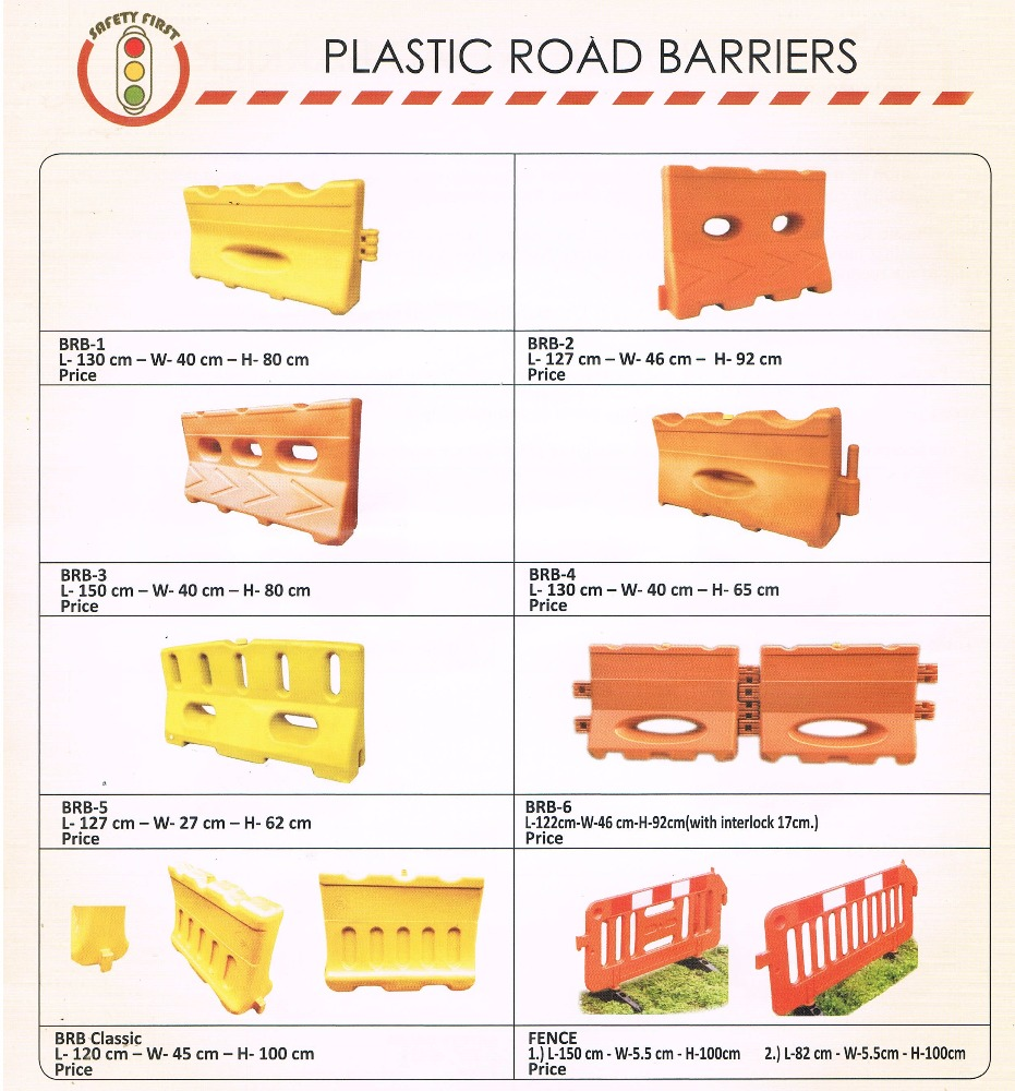 plastic road barriers,fence safety devices
