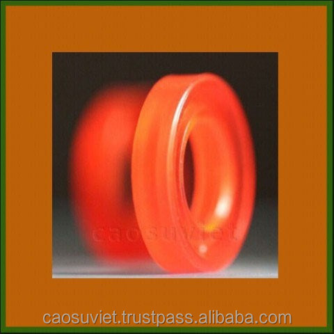 Silicone rubber seals for food