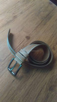 High Quality Cowboy Style Custom Men's Genuine Vintage Leather Belt of Used Leather