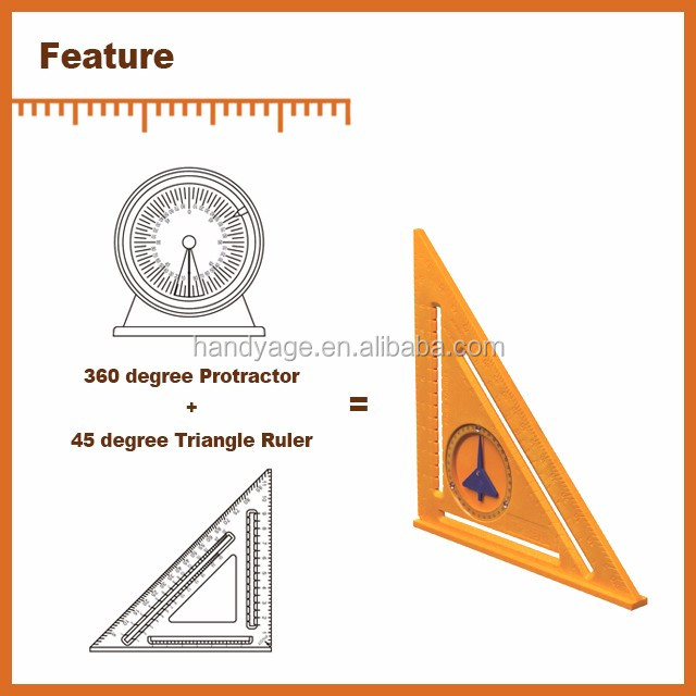 [Handy-Age]-2-in-1 Protractor Angle Square (HT4700-004)