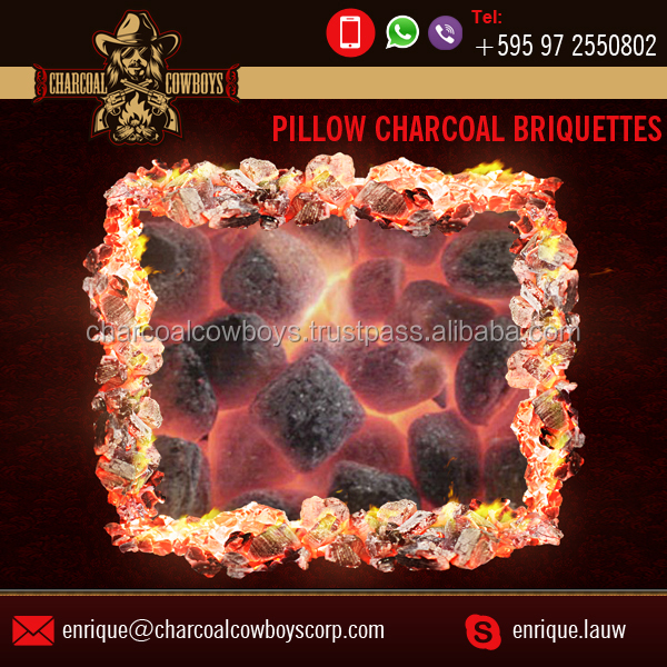 Extremly Clean Best Material made Natural Shisha Charcoal Briquette for Bulk Buy