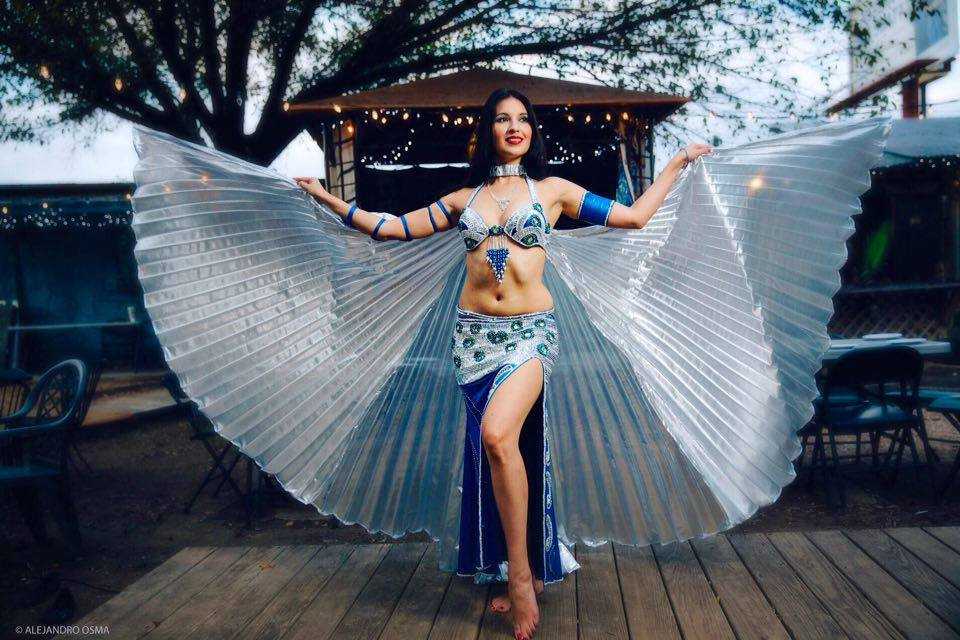 Egyptian Professional Belly dance Costume Sexy Custom-made bellydance Dress (LUX.B.B.2)