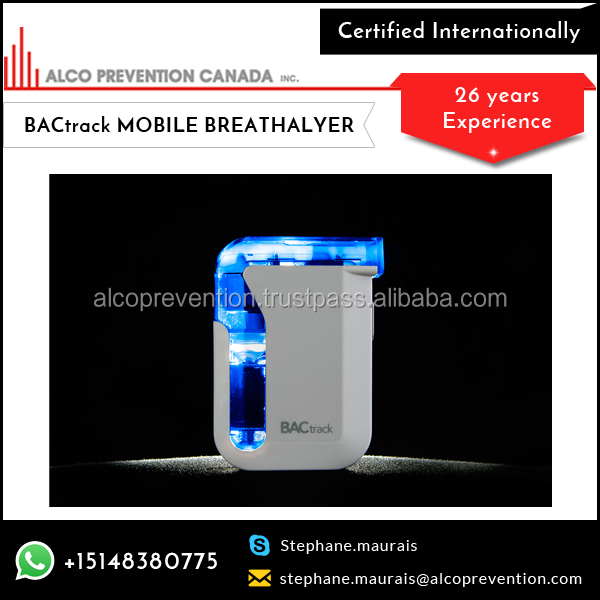 New Portable BACtrack Mobile Breathalyzer at Popular Rate