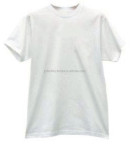 india low price white men's cotton t shirts 120 gsm 0.50$