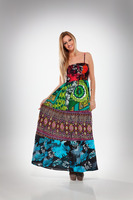 Beachwear Cotton Long Tube Dress | Summers Beachwear Exotic Long Maxi Dress Online