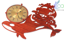 Wooden Antique Wall Clock DH070915 Home Decor